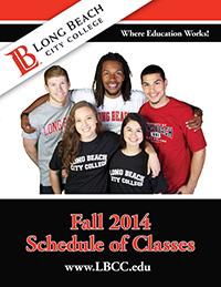 Fall 2014 Schedule